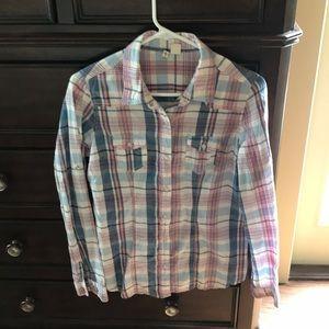Fun plaid shirt